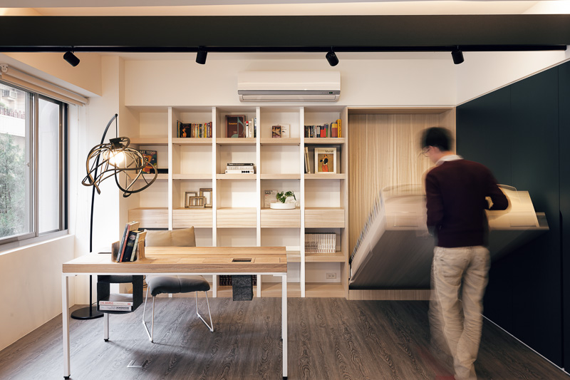 Living In Small Space By Folk Design Dsignsomething Com