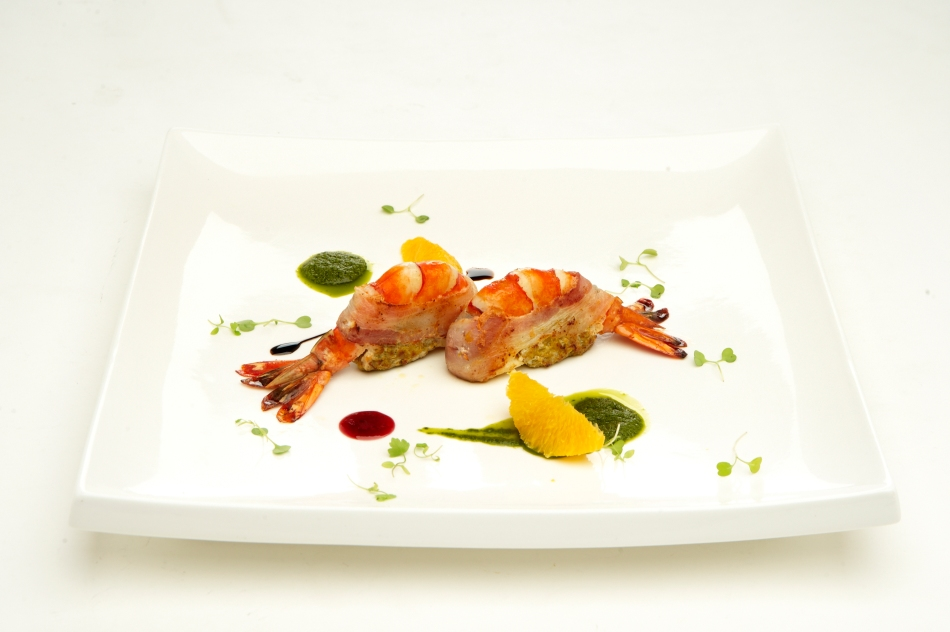 Contemporary Fusion_To Die For_Stuffed Prawns