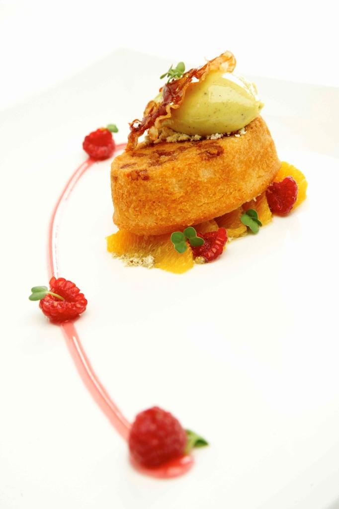 Dessert_ZENSE Patisserie_Pancetta Almond Financier