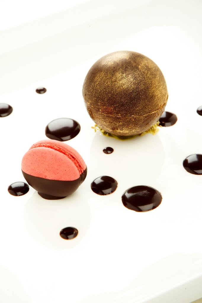 Dessert_ZENSE Patisserie_Smoked Chocolate Forzen Souffle