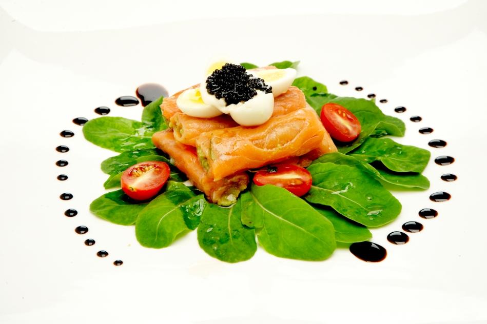 Italian_Gianni Restaurante_Smoked Salmon Roll