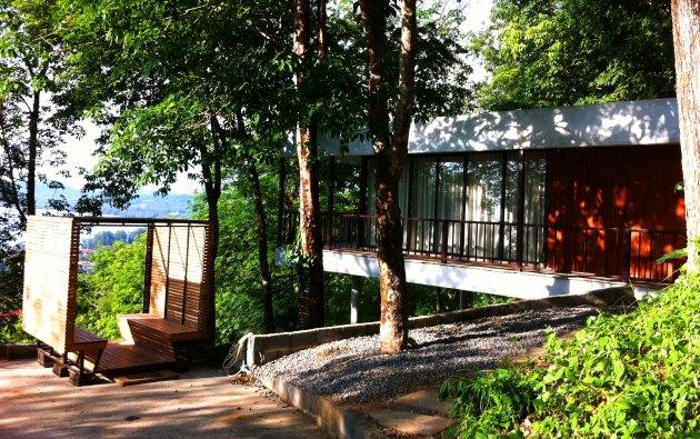 rubber garden house