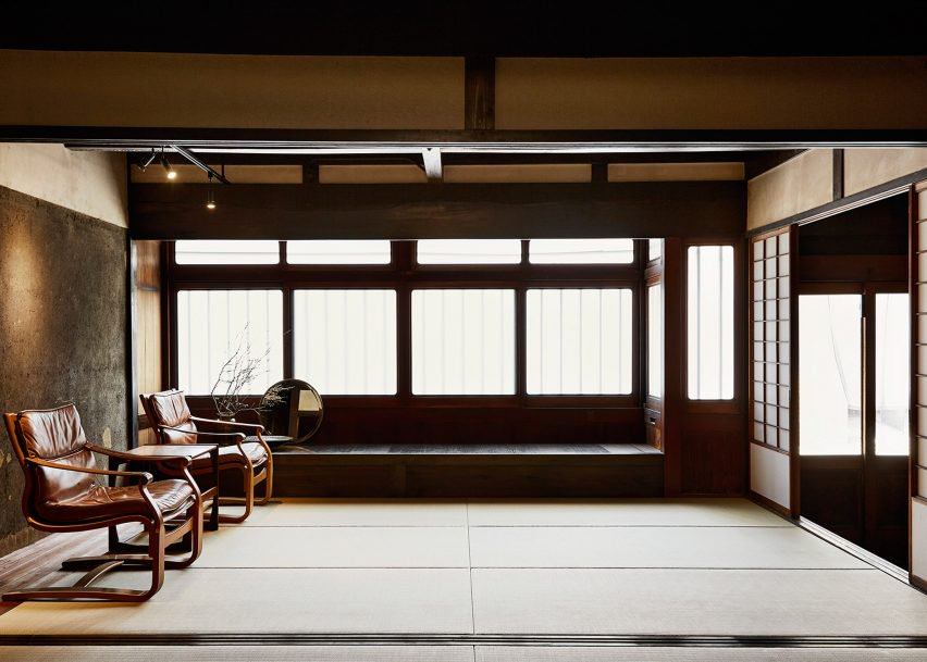 Machiya house for Japanse stijl interieur